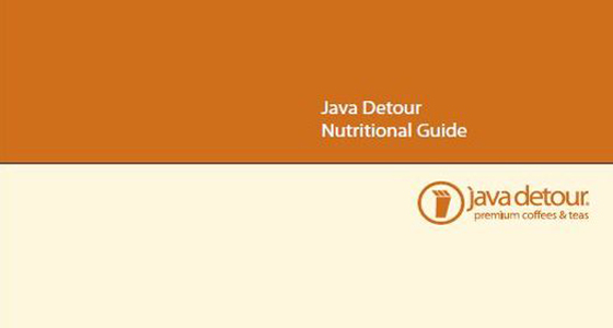 Java Detour Nutritional Information